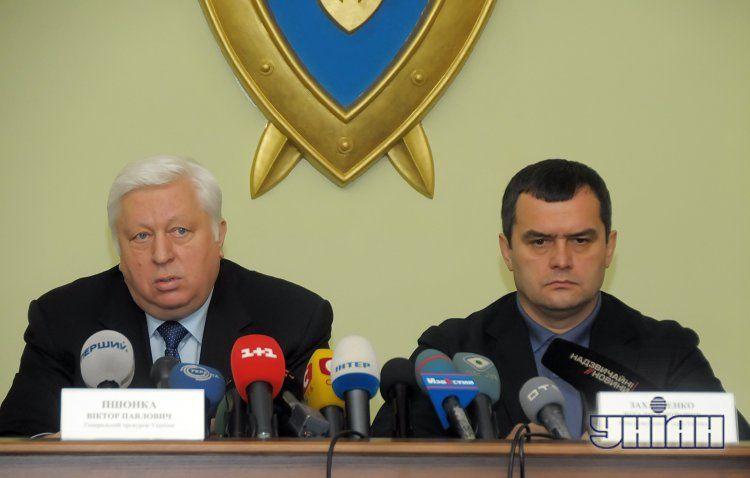 Виктор Пшонка и Виталий Захарченко