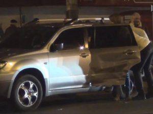 Разбитая Mitsubishi Outlander