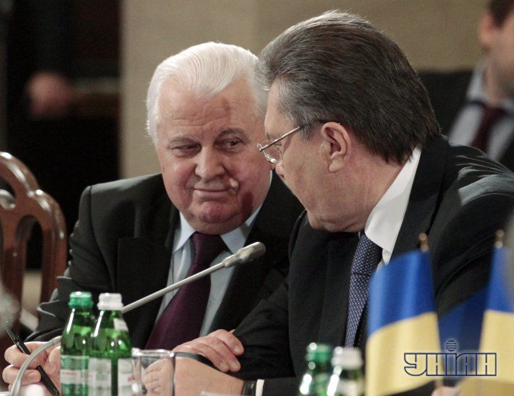 Леонид Кравчук и Виктор Янукович