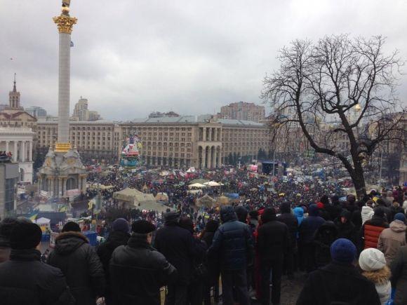 Народное Вече на Майдане, фото Владимира Арьева