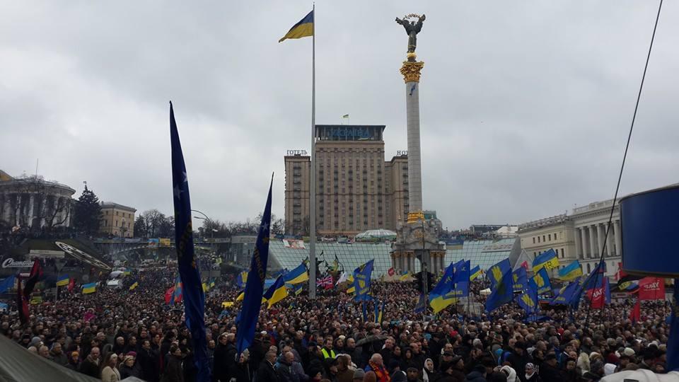 Новое вече на Майдане в Киеве