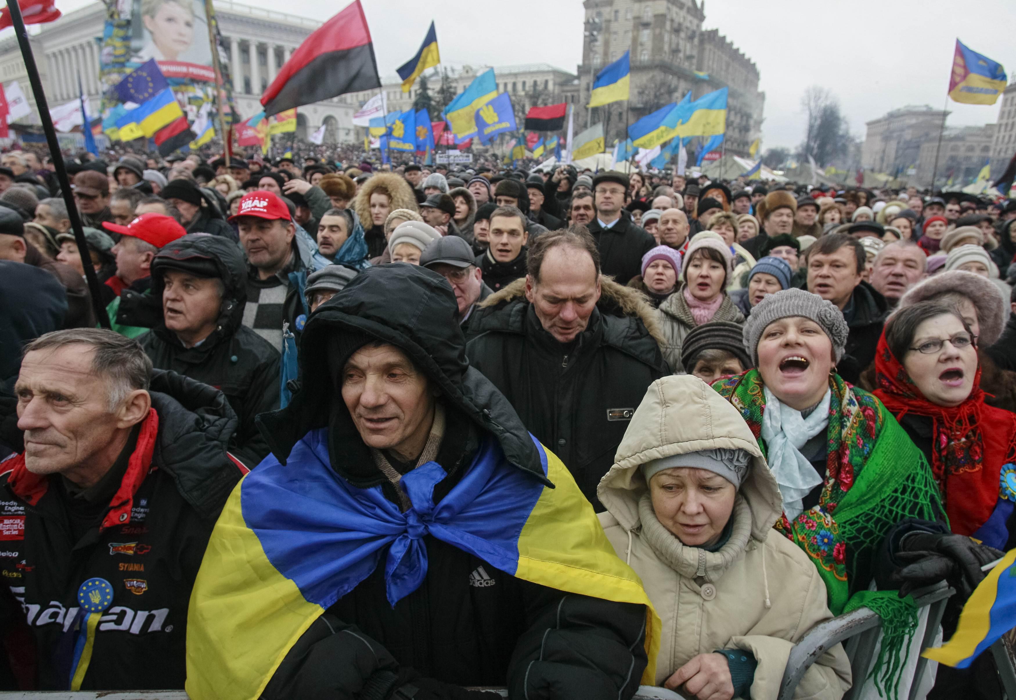 Вече на киевском Майдане