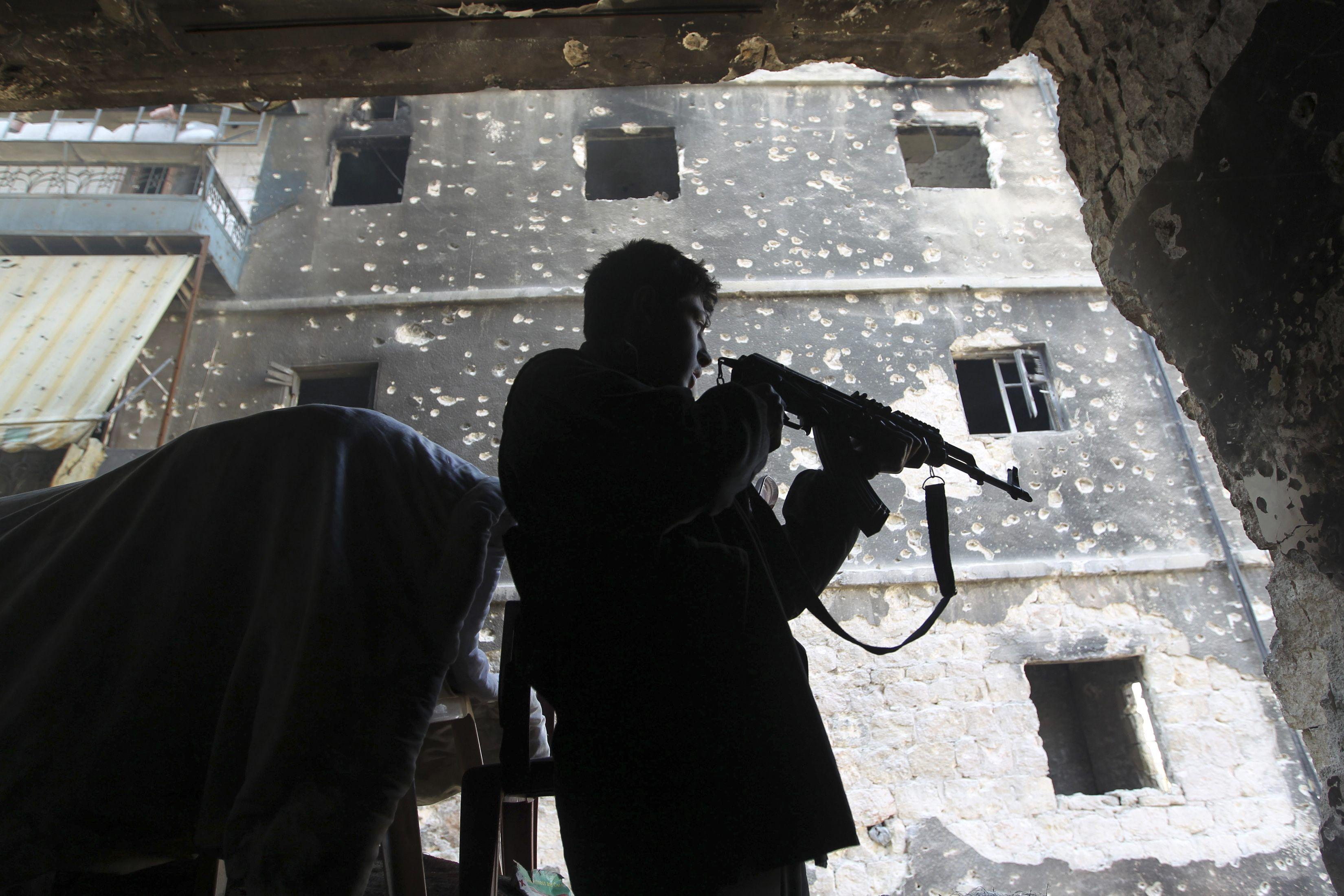 Война в Сирии, иллюстрация