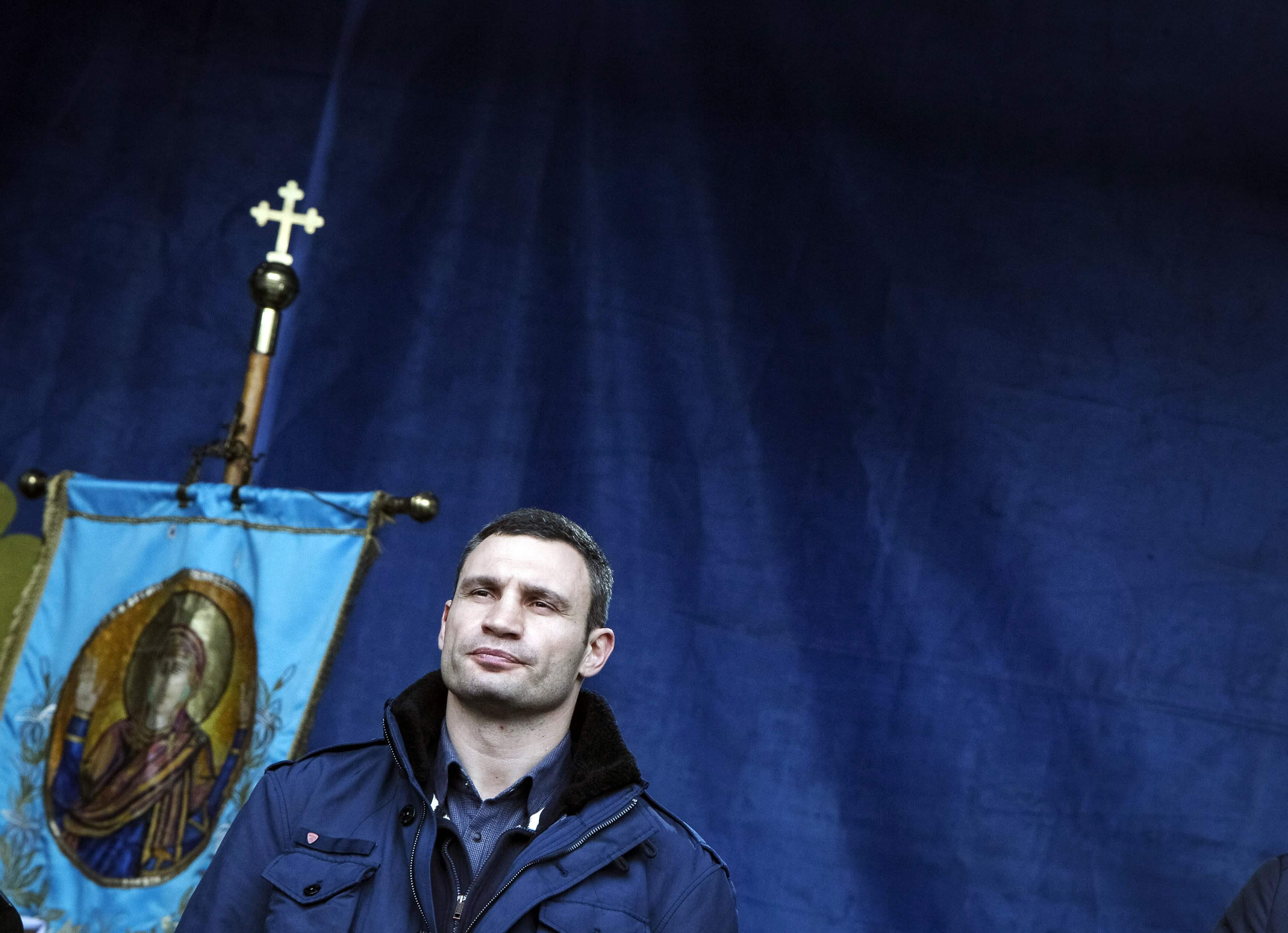 Виталий Кличко на Народном вече