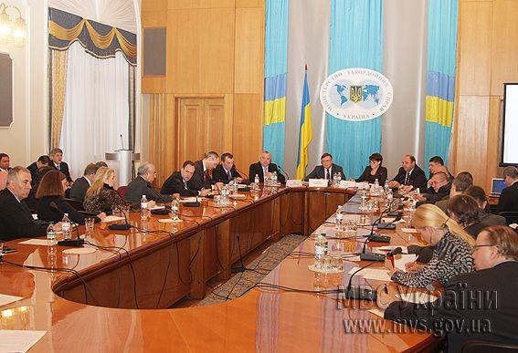 Встреча замглавы МВД с иностранными дипломатами