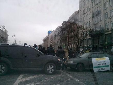 Акция на Европейской площади 17 января