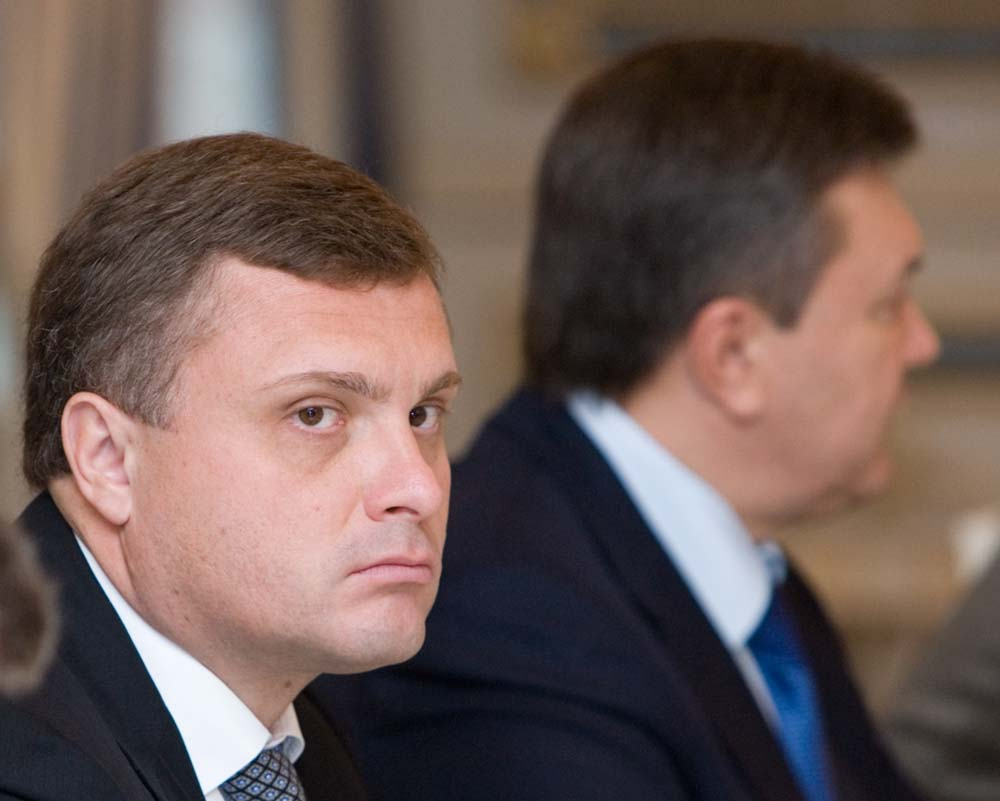 Виктор Янукович и Сергей Левочкин