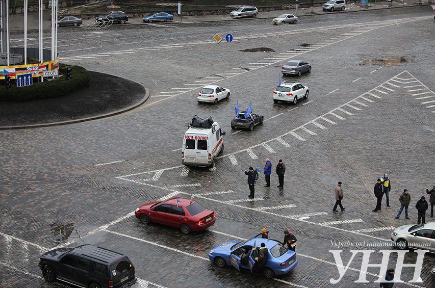 Автомайдан отправился в Васильков: опубликованы фото