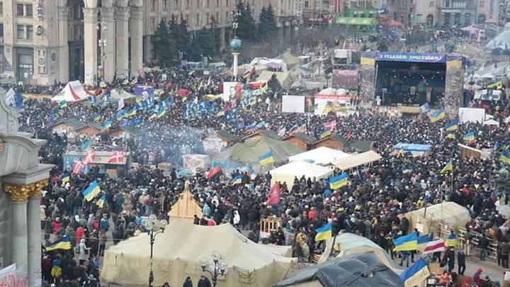 Восьмое вече на Евромайдане