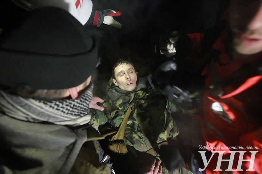 Пострадавший при взрыве на Грушевского