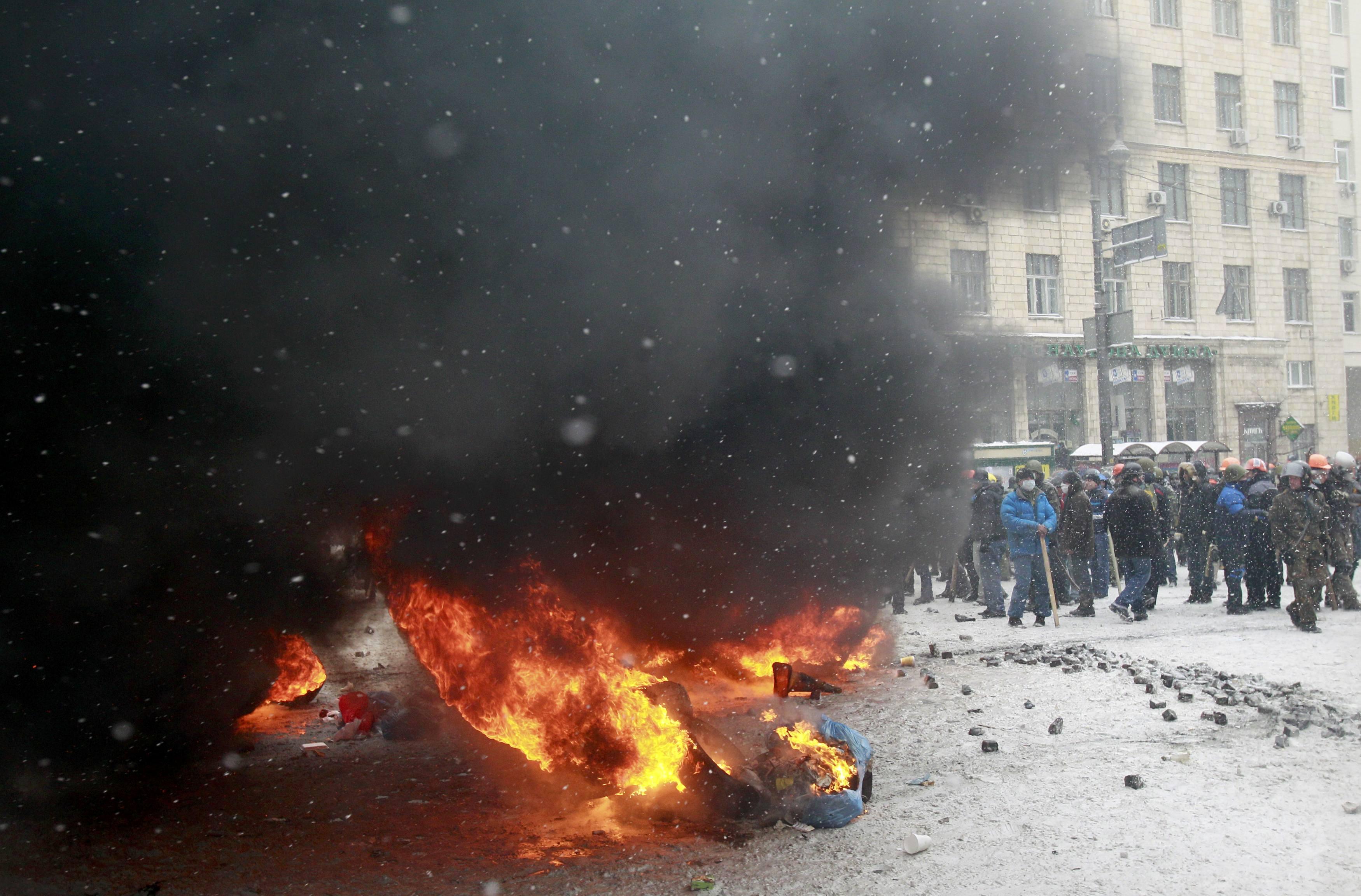 Европейская площадь, 22 января