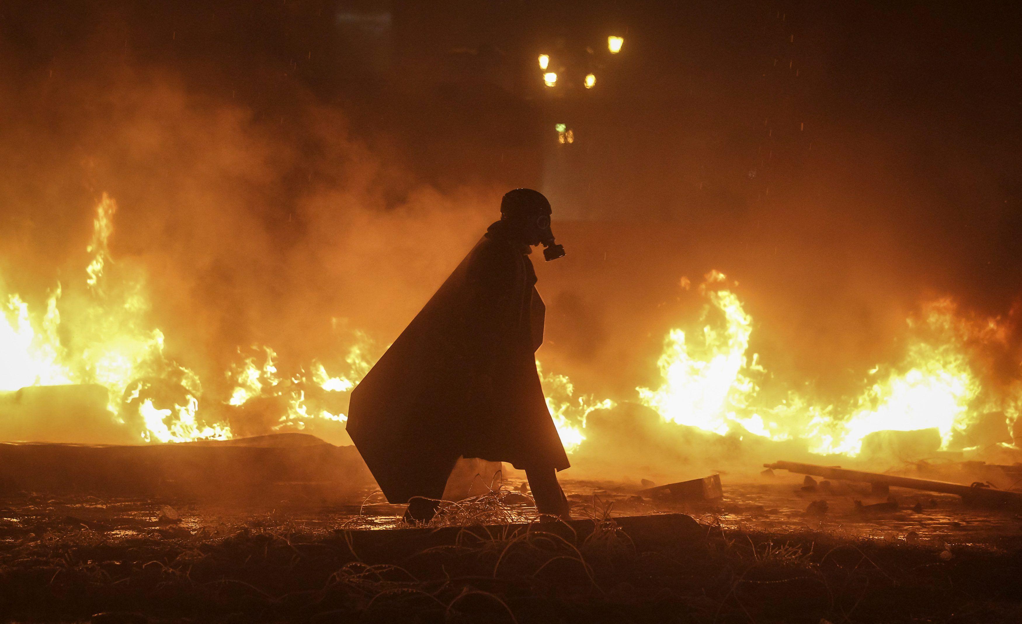 Огненная баррикада