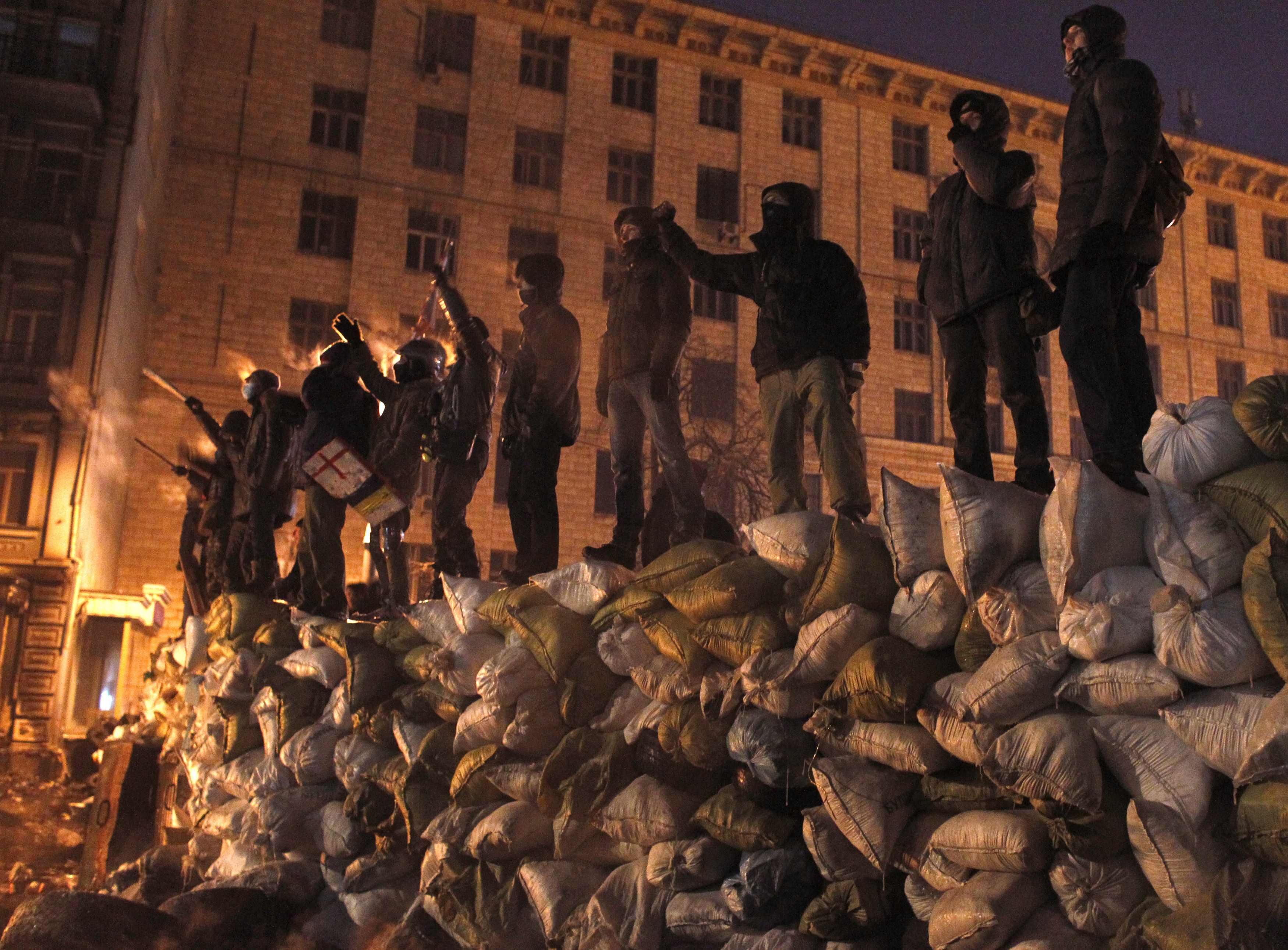 Грушевского стала территорией Майдана