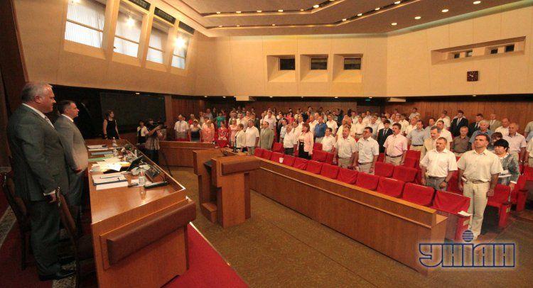Заседание Верховного Совета Кррыма