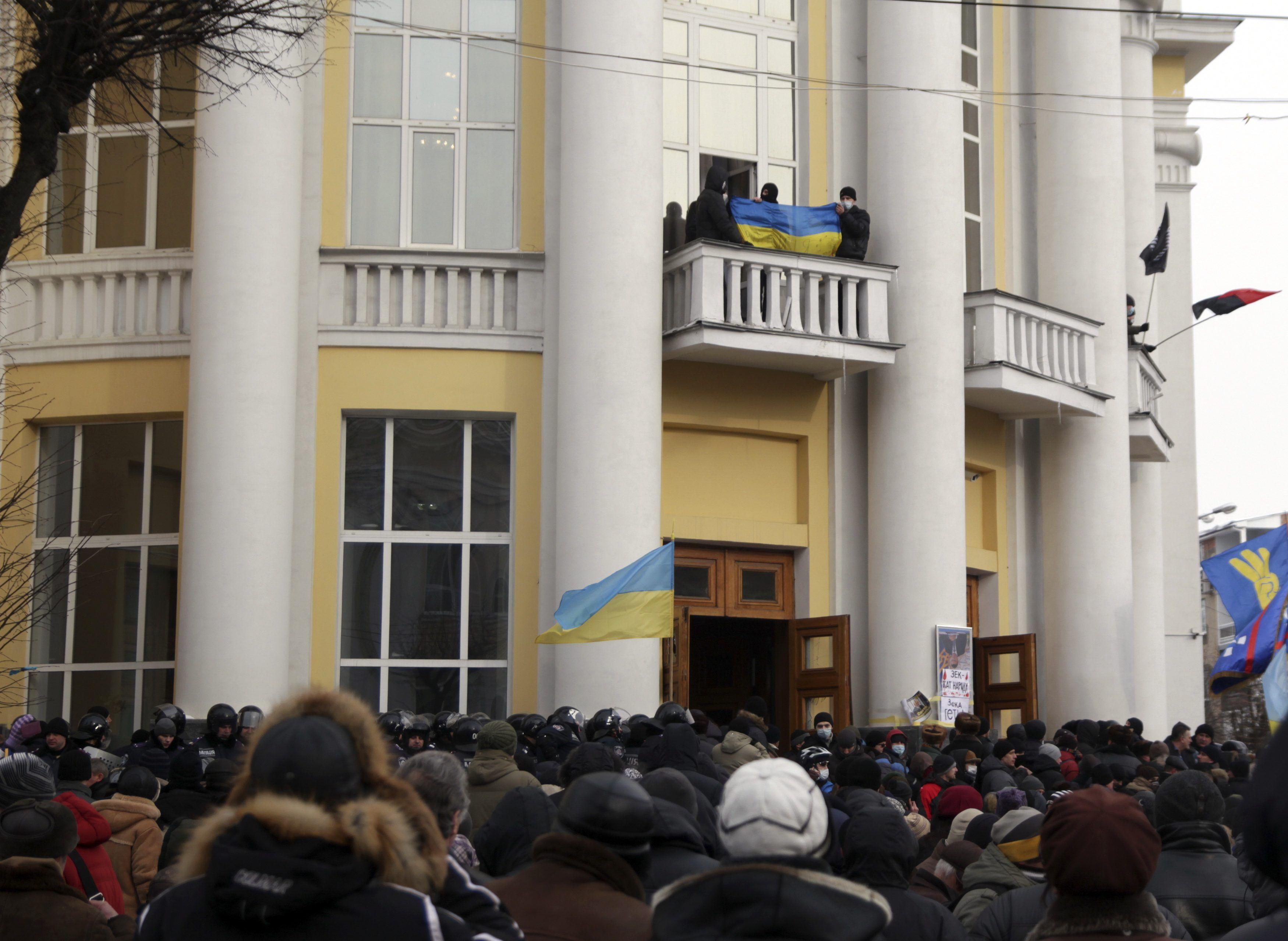 Фото с места событий
