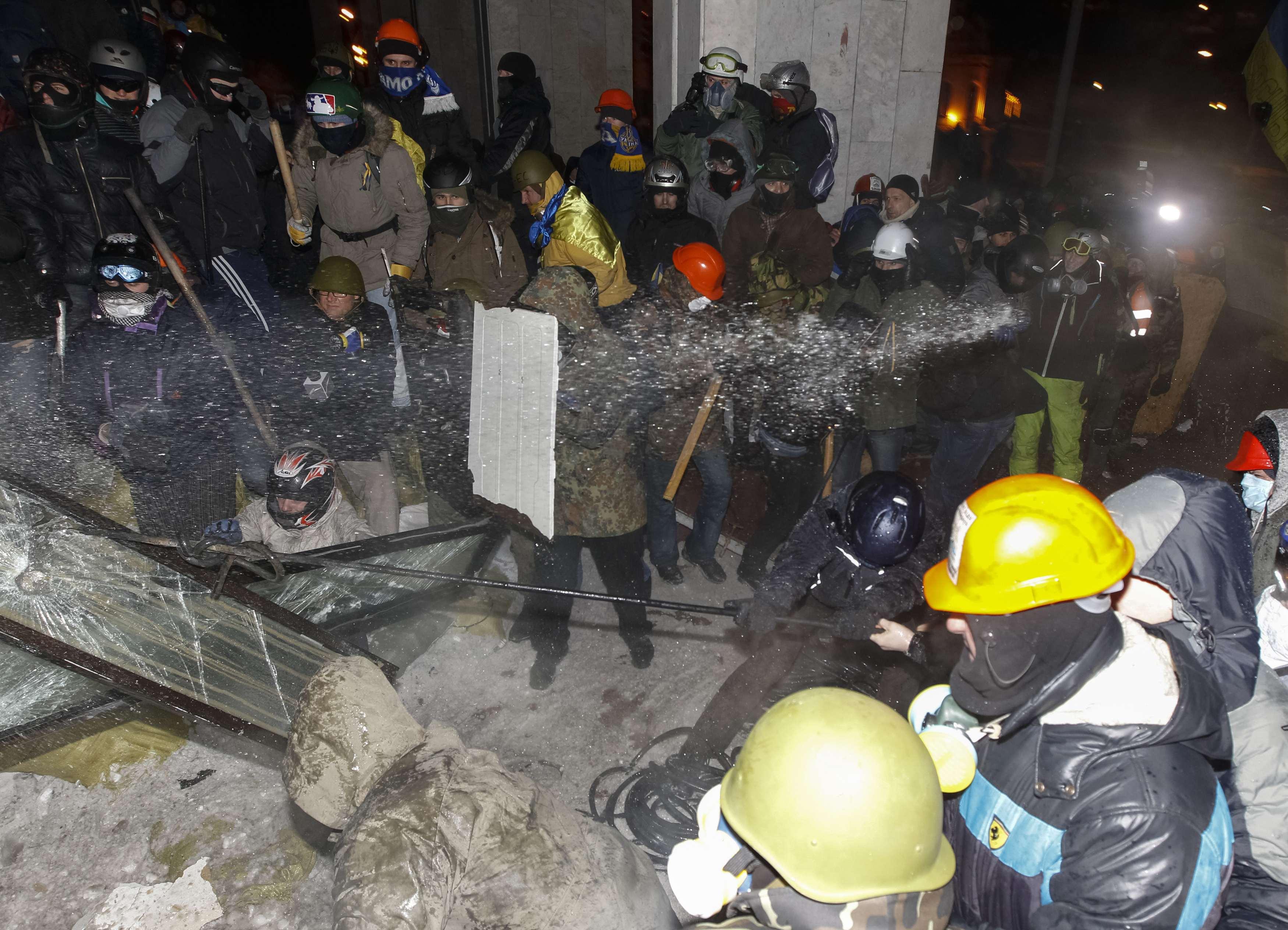 Штурм Украинского дома