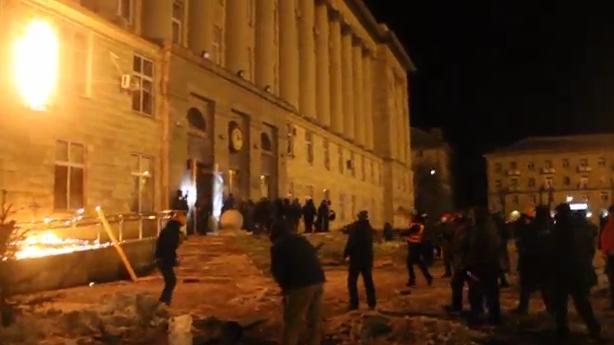 Протест в Черкассах. Фото: Про Головне