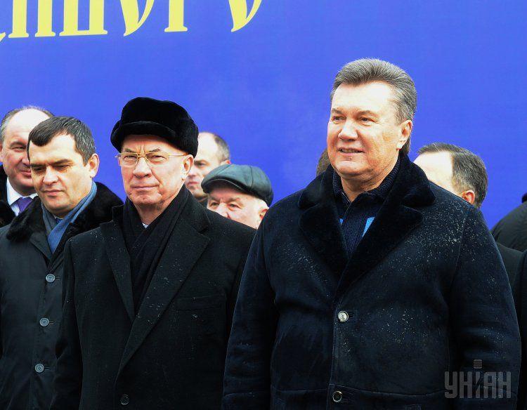 Азаров и Янукович нашли убежище в России