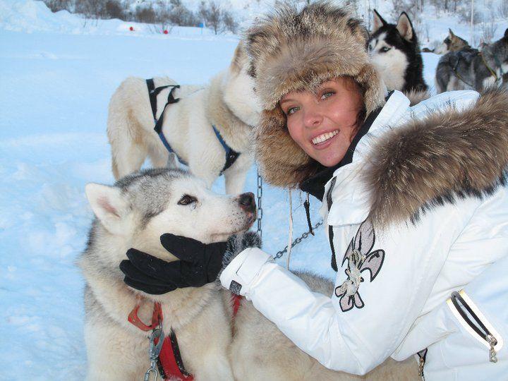 Инна Цимбалюк катается на лыжах десять лет