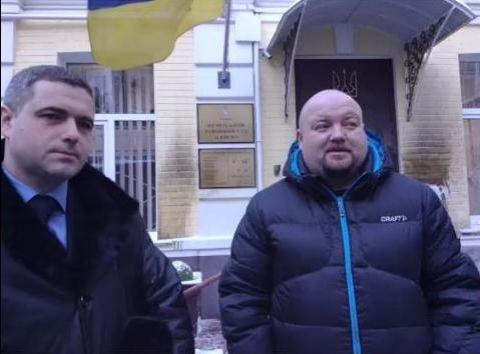Юрий Болотов - справа