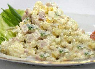Диетолог посоветовала, что вместо салата оливье можно сделать салат из шампиньонов и куриной грудки - Чем заменить оливье