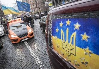 Машины Автомайдана, иллюстрация