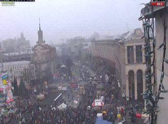 Воскресная акция на Майдане