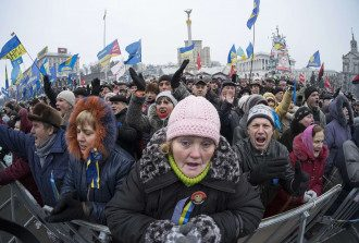 Участники Евромайдана 5 января
