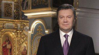 Янукович в Киево-Печерской лавре