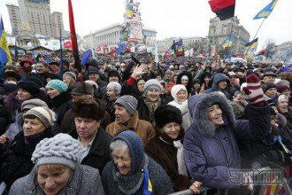 Майдан Независимости, 12 января
