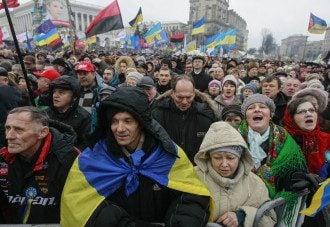 Народное вече на Майдане, 12 января