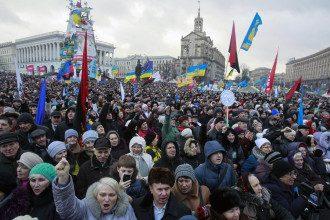Майдан в Киеве. Иллюстрация