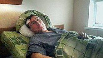 Юрий Луценко в больнице