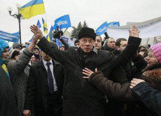 Азаров на Антимайдане