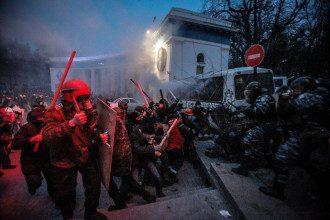 "Драка с ""Беркутом"", 19 января"