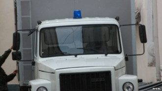 Автозак на Грушевского