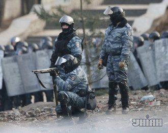 """""""Беркут"""" отстреливает митингующих на Грушевского"""