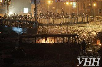 Противостояние на Грушевского, 21 января