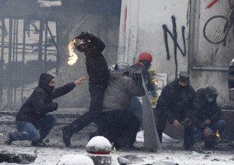 В Киеве продолжается противостоние