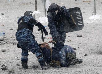 Милиция на Грушевского