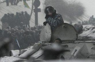 """""""Беркут"""" на Грушевского"""