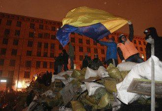 В центре Киева продолжается перемирие