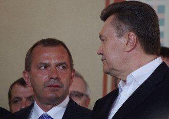 Андрей Клюев и Виктор Янукович
