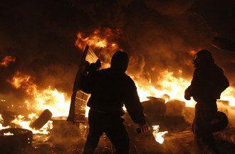 Противостояние на Грушевского, 25 января