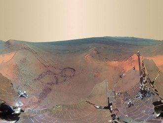Вода, Марс