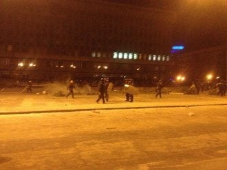 Фото с центральной площади Запорожья