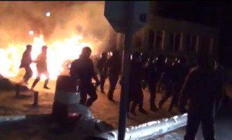 Прорыв спецназа в Василькове