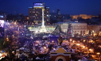 Протест на Майдане, иллюстрация