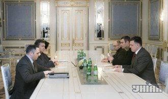 Переговоры Януковича и оппозиции