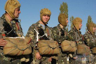 Десантники 79 аэромобильной бригады из Николаева